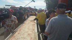 Punxsy Pizza World Record