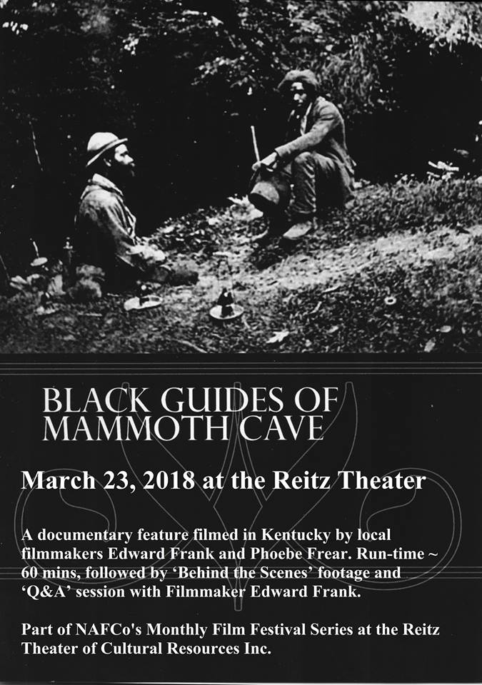 Black Guides of Mammoth Cave NAFCO film screening