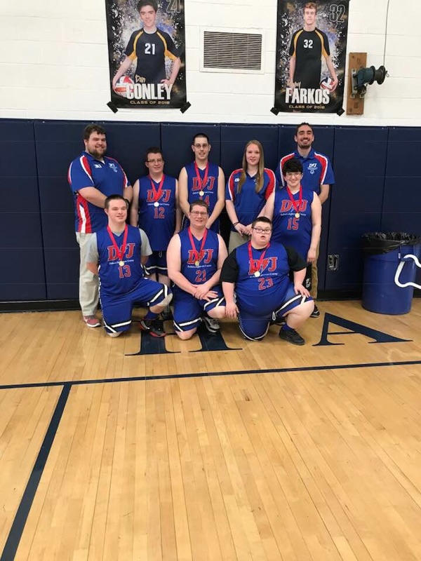 DuBois Jefferson Special Olympic Basketball spring 2018