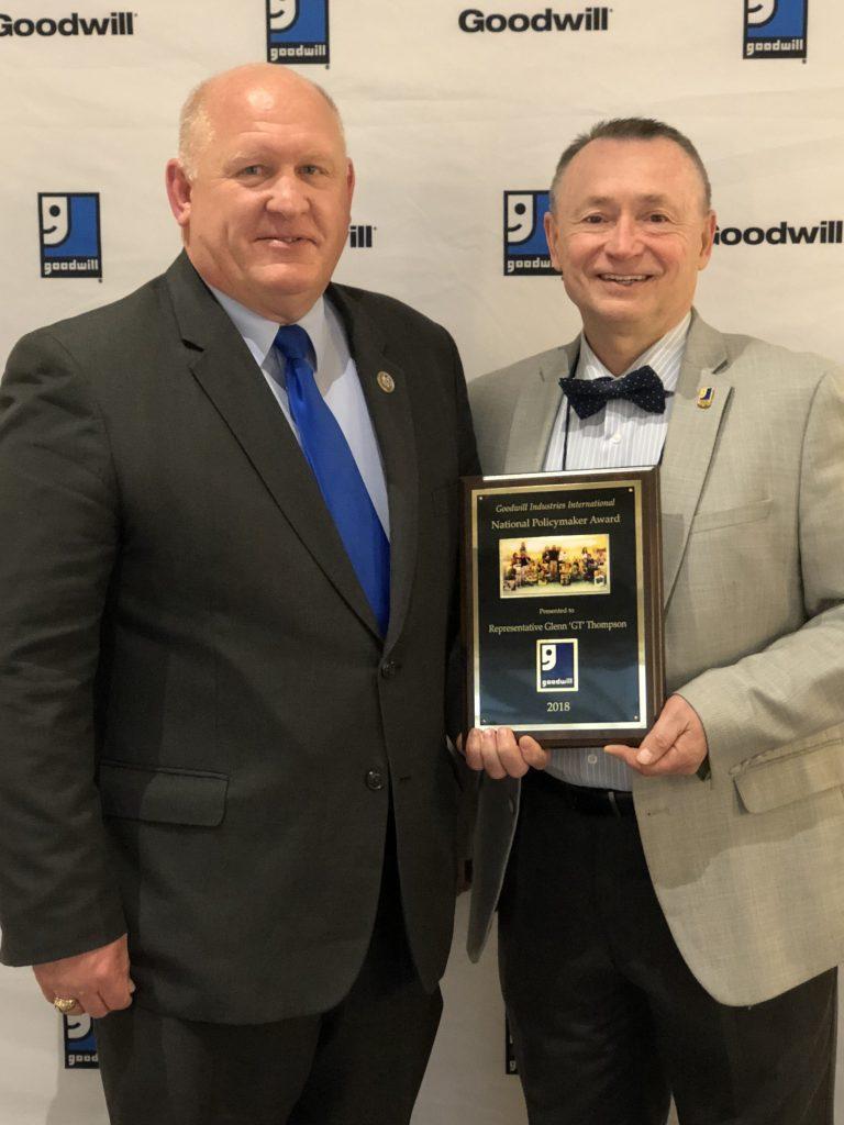 Glenn Thompson GT Goodwill Award