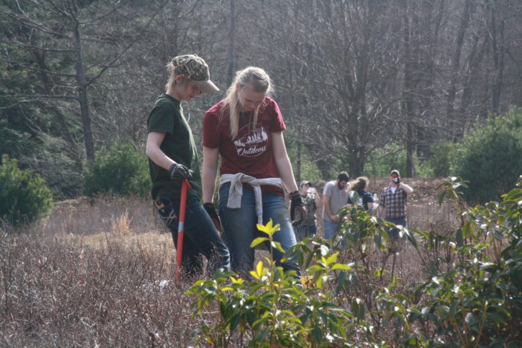Penn State DuBois Wildlife Tree Planting Trout