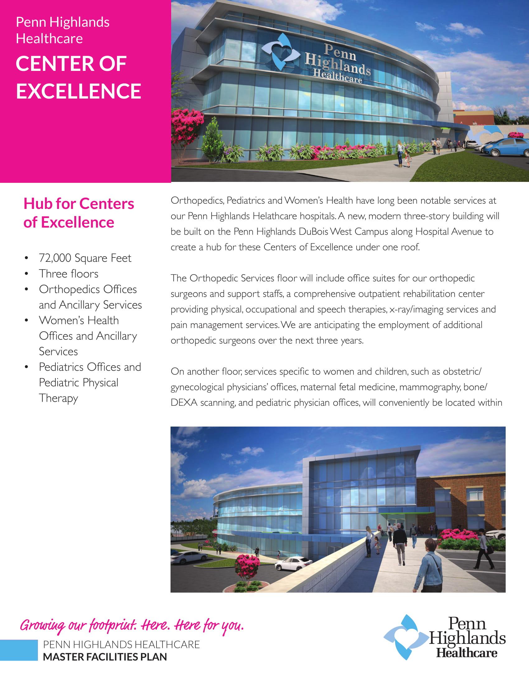 Penn Highlands unveils expansion and renovation plans