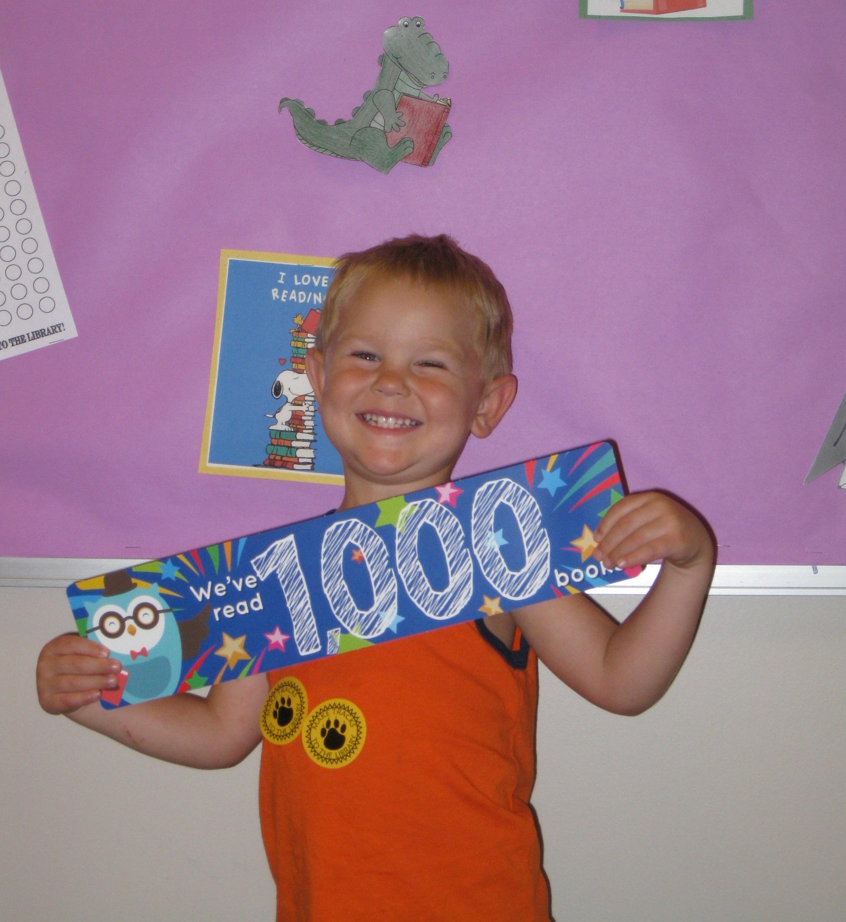 Josiah Mengle Memorial Library 1000 Books Before Kindergarten