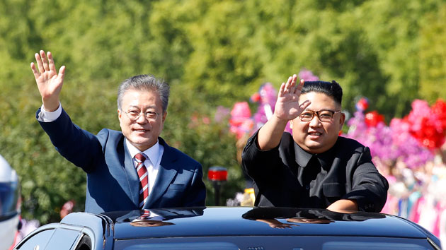 Pyeongyang Press Corps/Getty Images