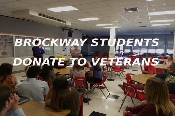 Brockway Students Donate Veterans