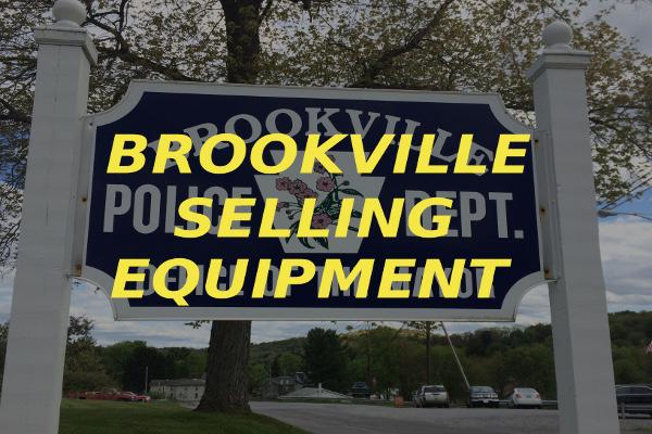 Brookville selling equipment