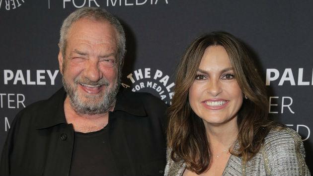 (L-R) Dick Wolf, Mariska Hargitay/NBC/Chris Haston