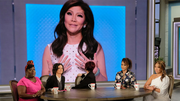 """Julie Chen says goodbye on """"The Talk""""; Johnny Vy/CBS"""
