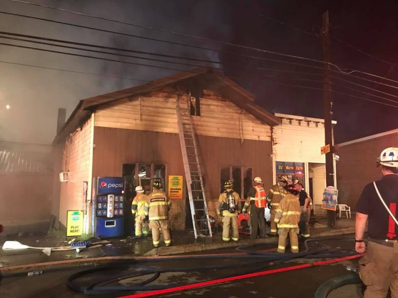Holt Grocery Fire 4