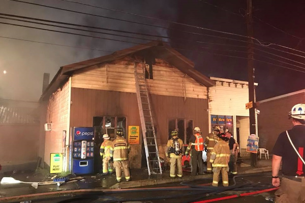 Holt Grocery Fire small 2