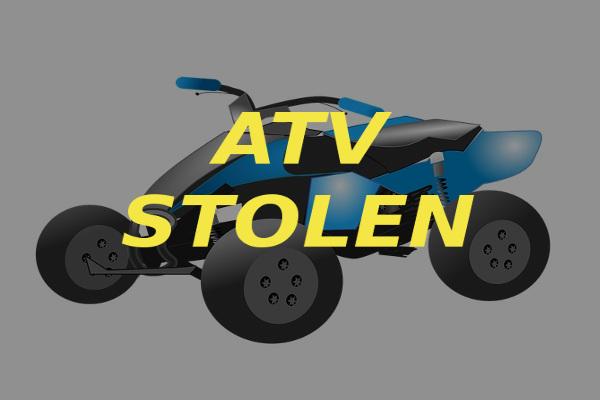 atv stolen ATVs