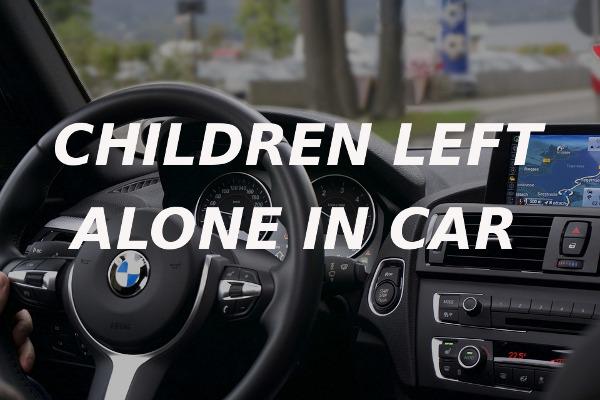 children left alone car