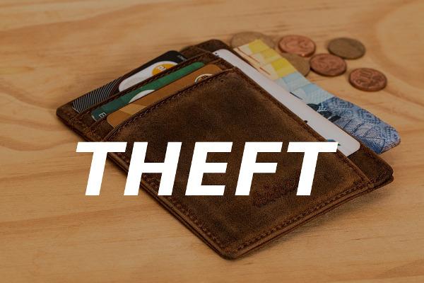 wallet theft stolen card