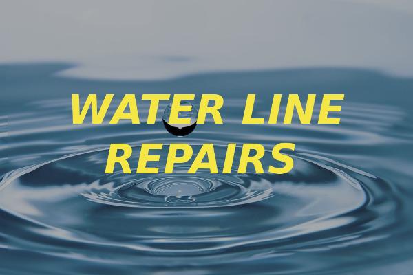water line repairs
