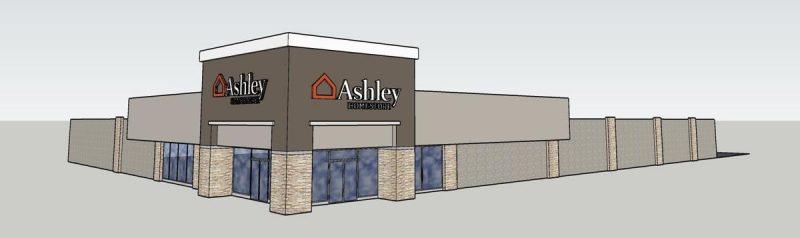 Ashley HomeStore DuBois Rendering