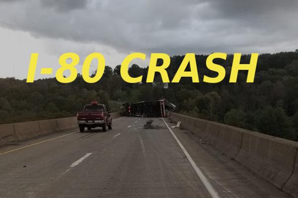 Brookville I-80 Tractor Trailer Oct 17 small