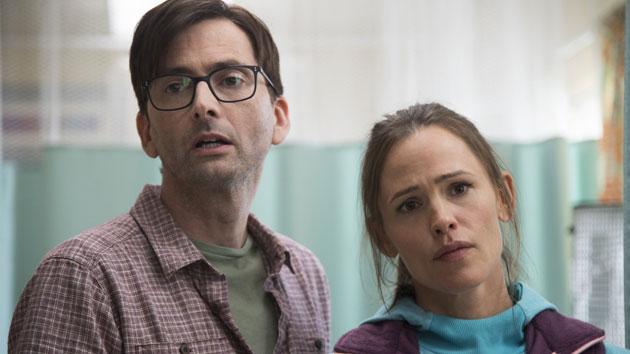 David Tennant and Jennifer Garner; Anne Marie Fox/HBO