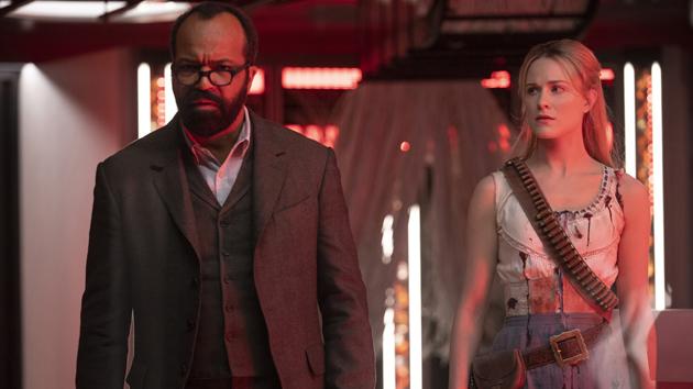 Jeffrey Wright and Evan Rachel Wood; John P. Johnson/HBO