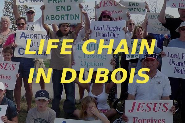 Life Chain DuBois