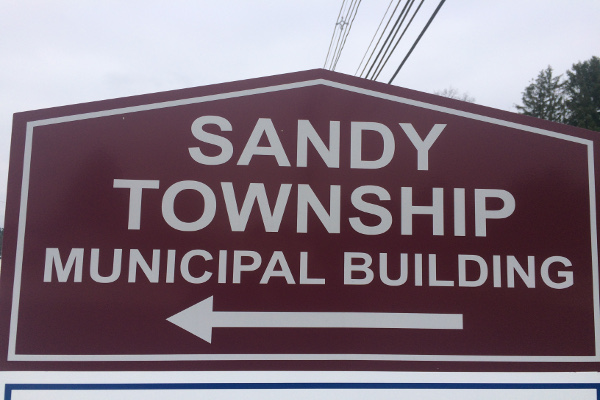 Sandy Twp Municipal Sign small