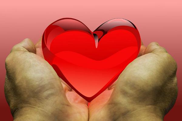 heart donate feeling