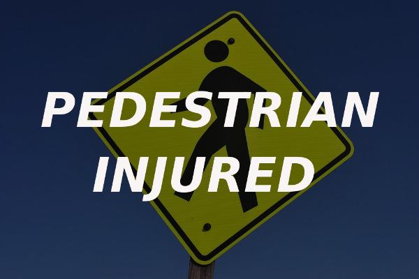 pedestrian injured