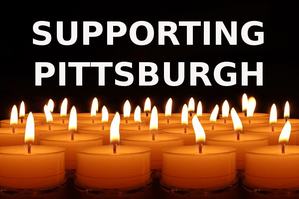 supporting Pittsburgh shooting
