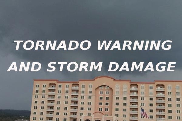 tornado warning storm damage