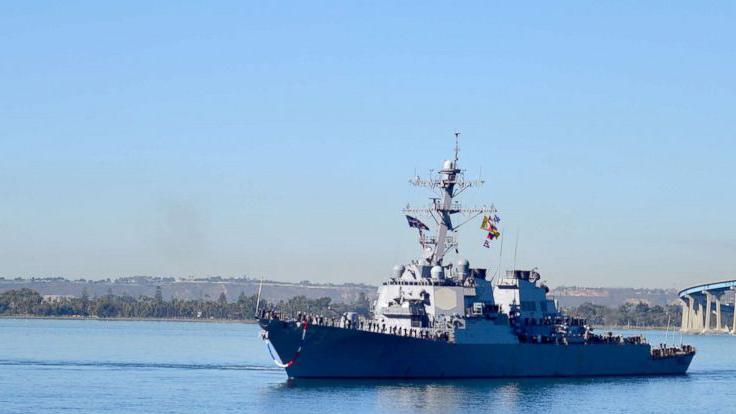 Seaman Trenton Kotlartz/US Navy