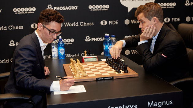 Tristan Fewings/Getty Images for World Chess