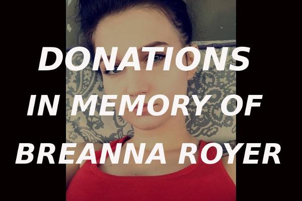 Breanna Royer donation
