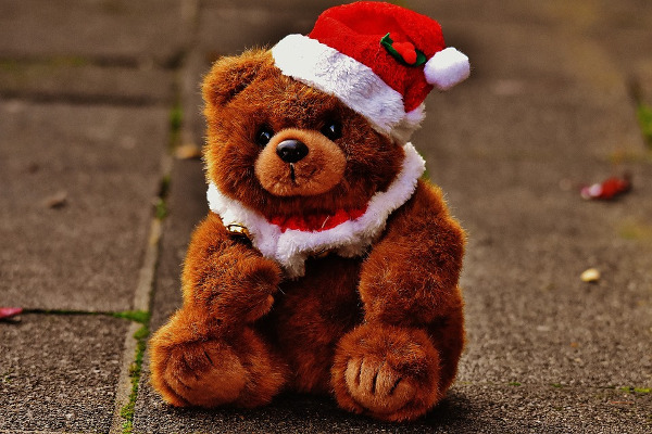 Christmas bear toys
