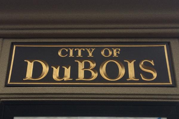 City of Dubois Sign