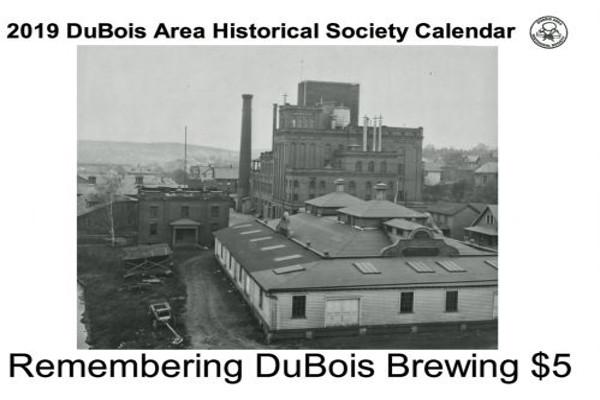 DuBois Historical Society 2019 calendar