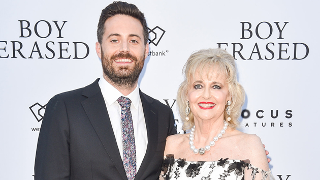 Garrard Conley and mother Martha Conley; Ernesto Distefano/Getty Images for Westbank and Focus Features