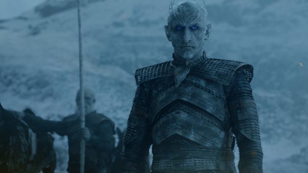 Vladimir Furdik as the Night King; courtesy of HBO