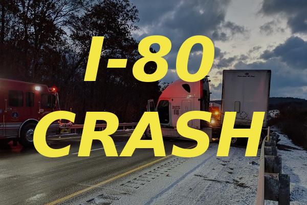 I-80 closed Saturday for tractor-trailer crash - Connect FM | Local