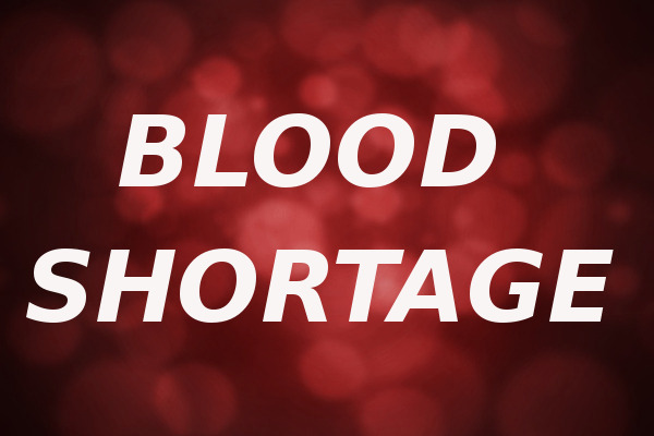 blood shortage