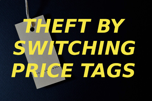theft switching price tags