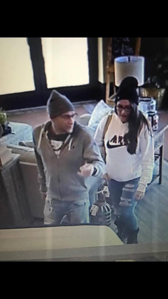 Ashley HomeStore thieves