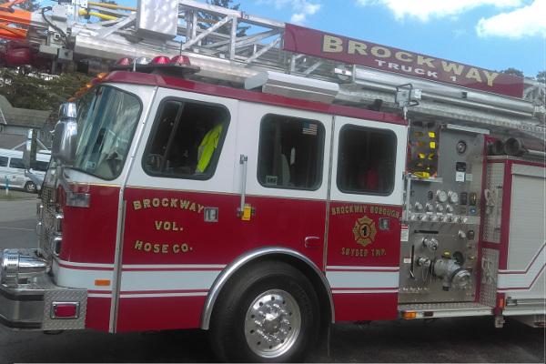 Brockway Fire Truck