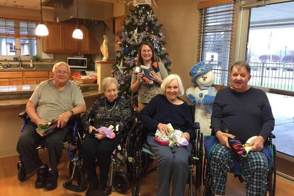 Christ the King Manor Socks for Seniors 2018 small