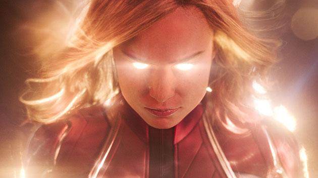 """Brie Larson as """"Captain Marvel"""": Marvel Studios/Disney"""