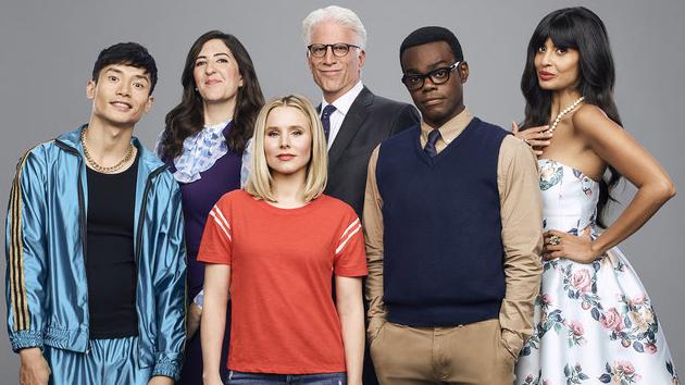 """The Good Place"" cast; Andrew Eccles/NBC"