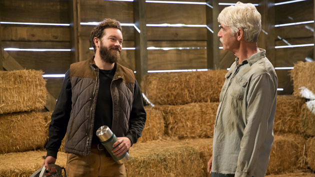 L-R: Danny Masterson and Sam Elliot; Greg Gayne/Netflix