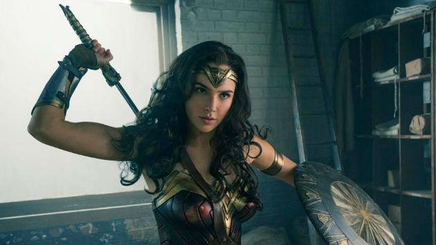 "Gal Gadot in ""Wonder Woman""; Warner Bros."
