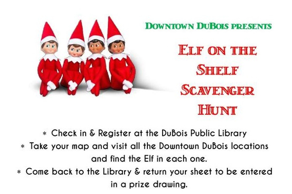 Elf on the Shelf 2018 Downtown DuBois small