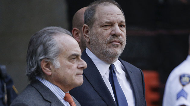 L-R: Attorney Ben Brafman and Harvey Weinstein; TIMOTHY A. CLARY/AFP/Getty Images