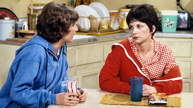 """L-R: Penny Marshall and Cindy Williams on """"Laverne & Shirley""""; ABC Photo Archives/ABC via Getty Images"""