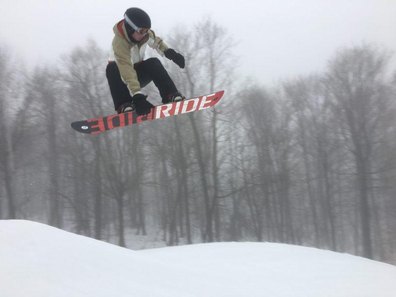 Hunter Miller ski trip